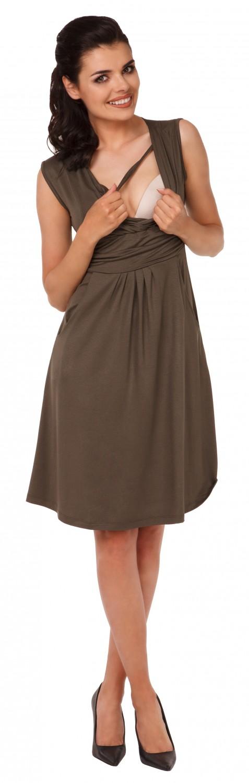 Zeta-Ville-Women-039-s-Maternity-Nursing-A-line-Dress-Pockets-Sleeveless-500c thumbnail 76