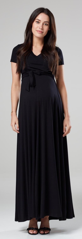65fbe2e1841dc Happy Mama Women's Maternity Nursing 2in1 Maxi Dress Short Sleeves ...