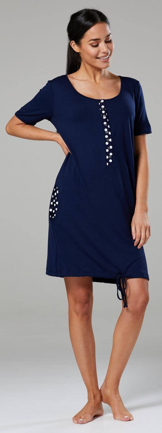 Happy-Mama-Women-039-s-Maternity-Nursing-Delivery-Hospital-Gown-Nightwear-209p thumbnail 19