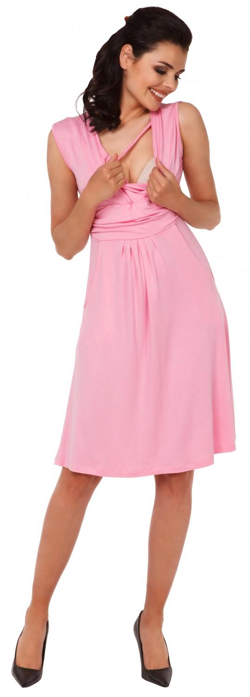 Zeta-Ville-Women-039-s-Maternity-Nursing-A-line-Dress-Pockets-Sleeveless-500c thumbnail 41