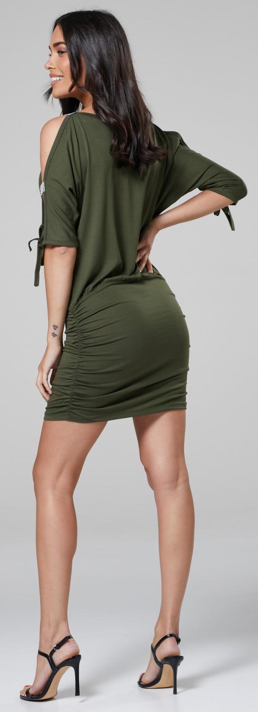 Glamour-Empire-Women-039-s-Open-Sleeve-Stretchy-Jersey-Tunic-Mini-Dress-157 thumbnail 20