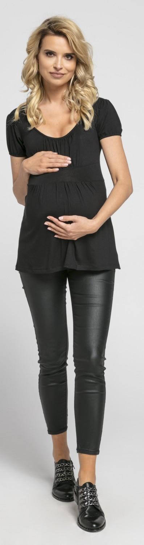 Womens Maternity Tunic Top Short Sleeves Empire Waist 257p Chelsea Clark