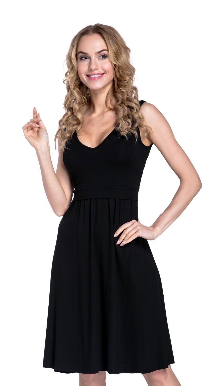 Happy-Mama-Women-039-s-Maternity-Nursing-Layered-Skater-Dress-Sleeveless-685p