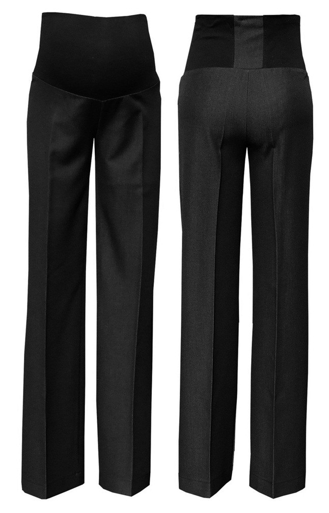 29bed5bcb8f224 Details about Zeta Ville - Women's Maternity Smart Pants Tailored Work  Trousers UK 8-20 – 246c