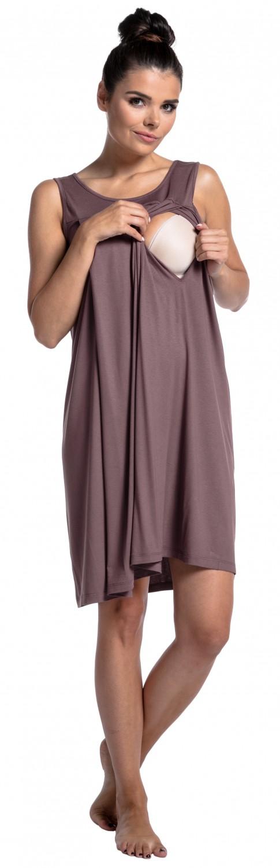 Zeta-Ville-Women-039-s-maternity-nursing-nightdress-breastfeeding-nightie-994c thumbnail 12