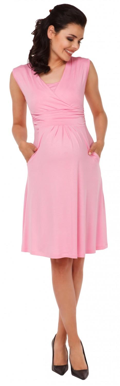 Zeta-Ville-Women-039-s-Maternity-Nursing-A-line-Dress-Pockets-Sleeveless-500c thumbnail 40