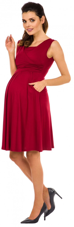 Zeta-Ville-Women-039-s-Maternity-Nursing-A-line-Dress-Pockets-Sleeveless-500c thumbnail 21