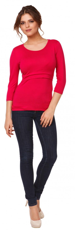Happy-Mama-Women-039-s-Maternity-Nursing-Double-Layered-Top-Round-Neckline-988p thumbnail 19