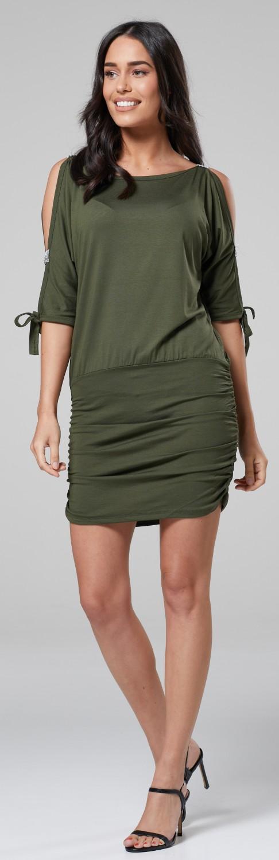 Glamour-Empire-Women-039-s-Open-Sleeve-Stretchy-Jersey-Tunic-Mini-Dress-157 thumbnail 19