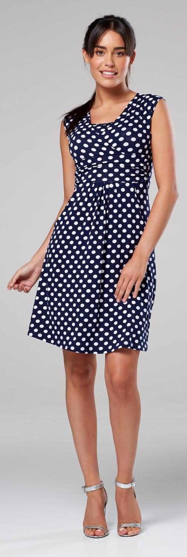 Zeta-Ville-Women-039-s-Maternity-Nursing-A-line-Dress-Pockets-Sleeveless-500c thumbnail 98