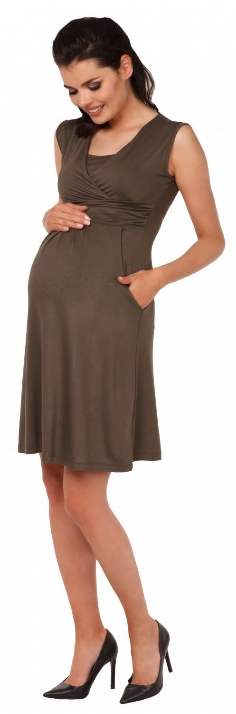 Zeta-Ville-Women-039-s-Maternity-Nursing-A-line-Dress-Pockets-Sleeveless-500c thumbnail 77