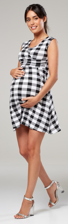 Zeta-Ville-Women-039-s-Maternity-Nursing-A-line-Dress-Pockets-Sleeveless-500c thumbnail 103