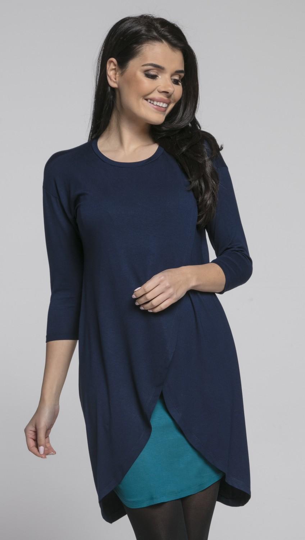 d1efcd2831632 Happy Mama. Women's Maternity Nursing Wrap Dress 3/4 Sleeves. Double ...