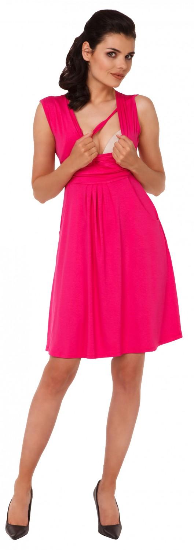 Zeta-Ville-Women-039-s-Maternity-Nursing-A-line-Dress-Pockets-Sleeveless-500c thumbnail 47
