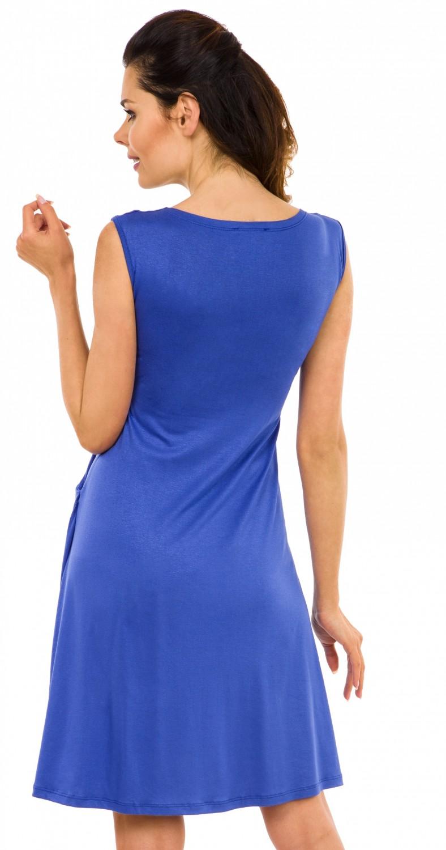 Zeta-Ville-Women-039-s-Maternity-Nursing-A-line-Dress-Pockets-Sleeveless-500c thumbnail 32