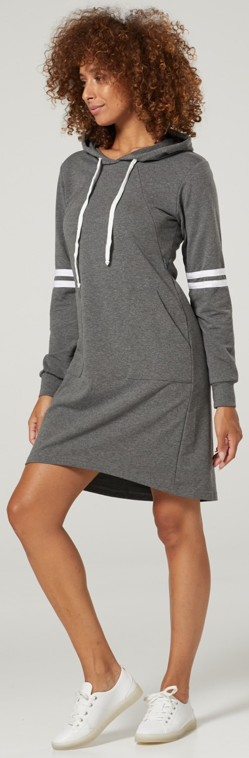 HAPPY MAMA Women/'s Maternity Nursing Mini Hooded Jumper Dress 1105