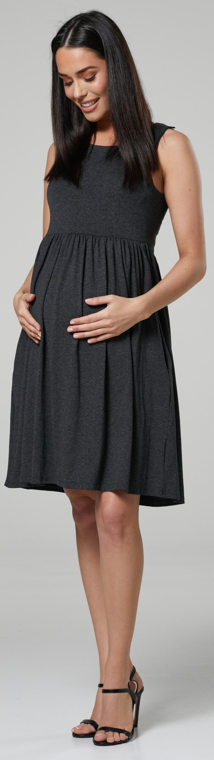 HAPPY-MAMA-Women-039-s-Maternity-Nursing-Pleated-Cocktail-Print-Dress-Sleeveless-103 thumbnail 27