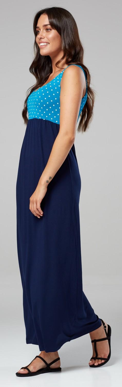 Glamour-Empire-Women-039-s-Maxi-Dress-Sleeveless-Flared-Skirt-with-Empire-Waist-292