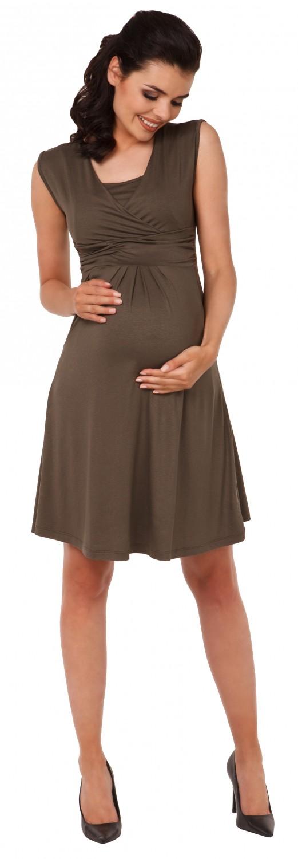 Zeta-Ville-Women-039-s-Maternity-Nursing-A-line-Dress-Pockets-Sleeveless-500c thumbnail 75