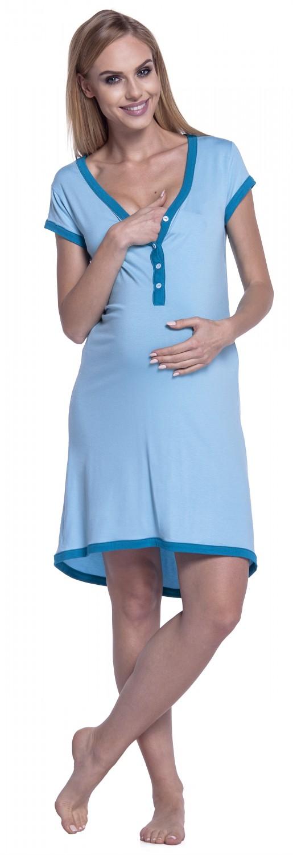 Happy Mama Womens Maternity Nursing Breastfeeding Nightdress Shirt