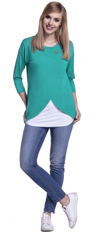 Happy-Mama-Women-039-s-Maternity-Nursing-Wrap-Top-3-4-Sleeves-Double-Layer-446p thumbnail 42