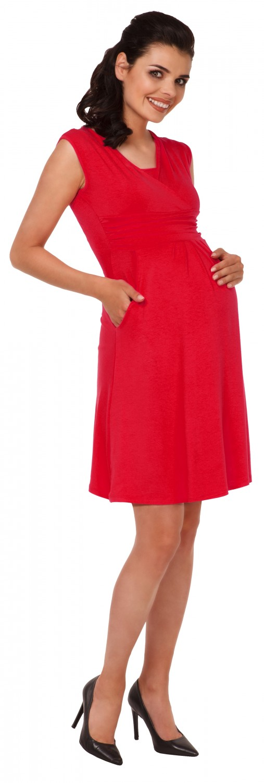 Zeta-Ville-Women-039-s-Maternity-Nursing-A-line-Dress-Pockets-Sleeveless-500c thumbnail 70