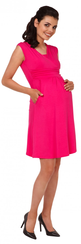 Zeta-Ville-Women-039-s-Maternity-Nursing-A-line-Dress-Pockets-Sleeveless-500c thumbnail 48