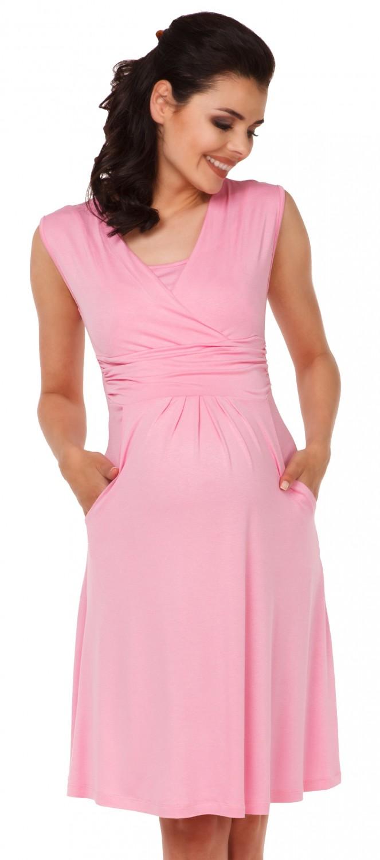 Zeta-Ville-Women-039-s-Maternity-Nursing-A-line-Dress-Pockets-Sleeveless-500c thumbnail 39