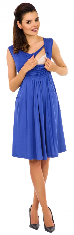 Zeta-Ville-Women-039-s-Maternity-Nursing-A-line-Dress-Pockets-Sleeveless-500c thumbnail 33