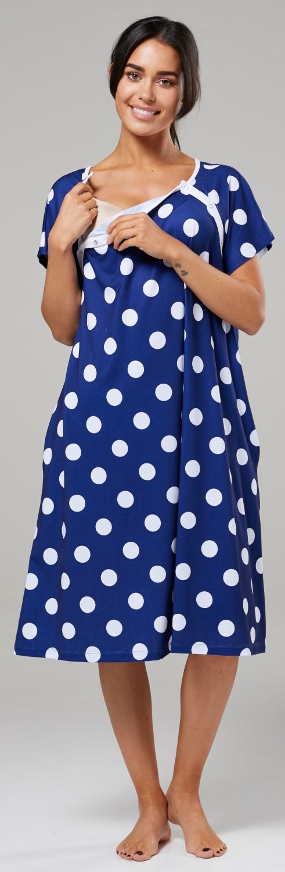 Zeta-Ville-Women-039-s-Maternity-Nursing-Delivery-Hospital-Gown-Nightshirt-536p thumbnail 43