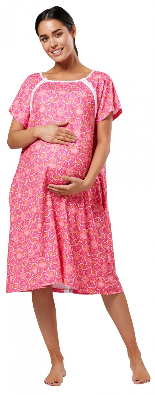 Zeta-Ville-Women-039-s-Maternity-Nursing-Delivery-Hospital-Gown-Nightshirt-536p thumbnail 54