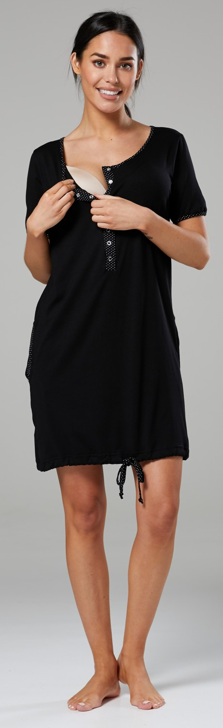 Happy-Mama-Women-039-s-Maternity-Nursing-Delivery-Hospital-Gown-Nightwear-209p thumbnail 6