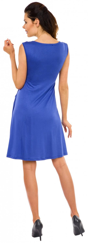 Zeta-Ville-Women-039-s-Maternity-Nursing-A-line-Dress-Pockets-Sleeveless-500c thumbnail 35