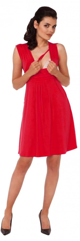 Zeta-Ville-Women-039-s-Maternity-Nursing-A-line-Dress-Pockets-Sleeveless-500c thumbnail 69