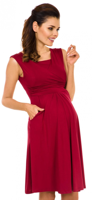 Zeta-Ville-Women-039-s-Maternity-Nursing-A-line-Dress-Pockets-Sleeveless-500c thumbnail 17