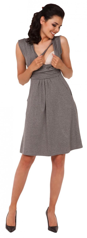 Zeta-Ville-Women-039-s-Maternity-Nursing-A-line-Dress-Pockets-Sleeveless-500c thumbnail 90