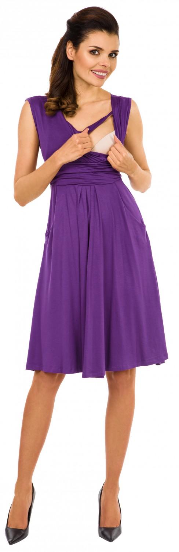 Zeta-Ville-Women-039-s-Maternity-Nursing-A-line-Dress-Pockets-Sleeveless-500c thumbnail 25