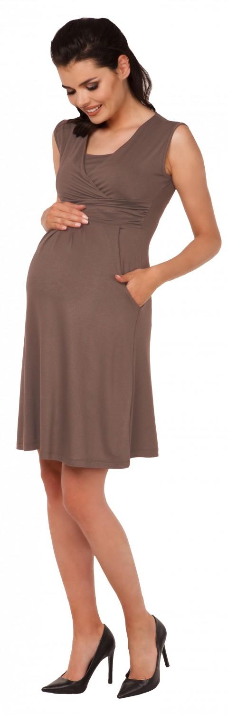 Zeta-Ville-Women-039-s-Maternity-Nursing-A-line-Dress-Pockets-Sleeveless-500c thumbnail 56