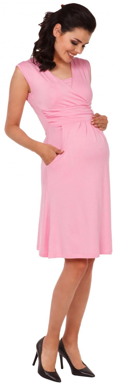 Zeta-Ville-Women-039-s-Maternity-Nursing-A-line-Dress-Pockets-Sleeveless-500c thumbnail 42
