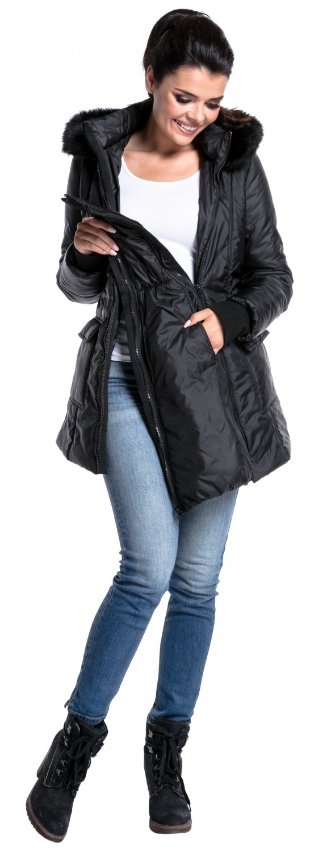 2855a48c5b23a Zeta Ville - Women's maternity padded jacket removable panel ...