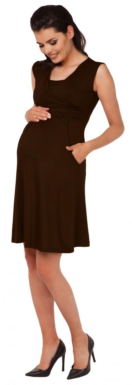 Zeta-Ville-Women-039-s-Maternity-Nursing-A-line-Dress-Pockets-Sleeveless-500c thumbnail 83
