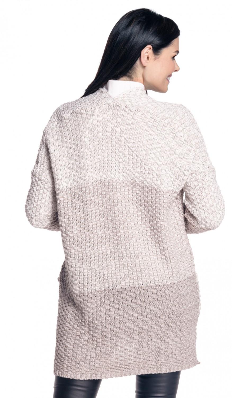 f26d1638889bd Zeta Ville-para mujer tejido abrigado abrigo Cardigan Color En ...