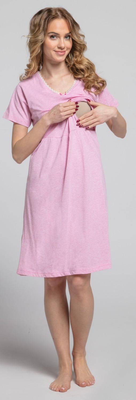 Zeta-Ville-Women-039-s-maternity-breastfeeding-stripes-set-robe-nightdress-190c thumbnail 20