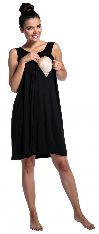 Zeta-Ville-Women-039-s-maternity-nursing-nightdress-breastfeeding-nightie-994c thumbnail 5