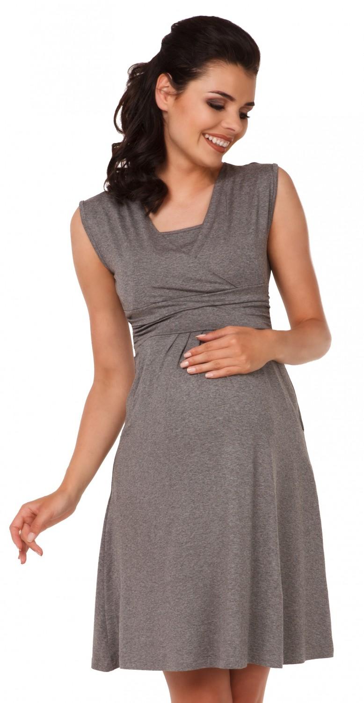 Zeta-Ville-Women-039-s-Maternity-Nursing-A-line-Dress-Pockets-Sleeveless-500c thumbnail 88