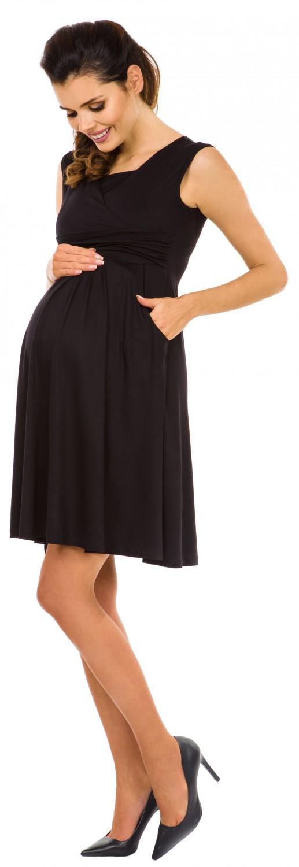 Zeta-Ville-Women-039-s-Maternity-Nursing-A-line-Dress-Pockets-Sleeveless-500c thumbnail 7