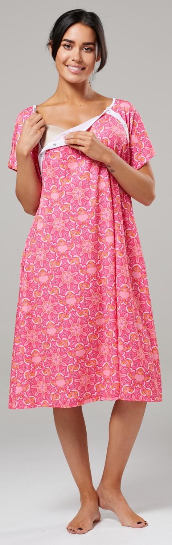Zeta-Ville-Women-039-s-Maternity-Nursing-Delivery-Hospital-Gown-Nightshirt-536p thumbnail 57