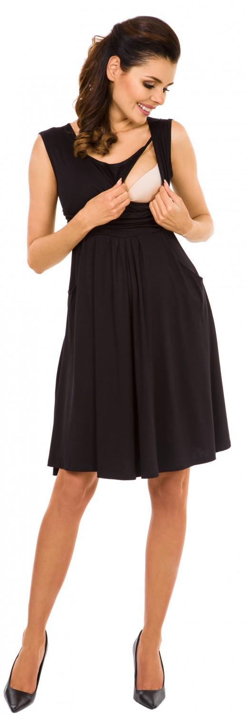 Zeta-Ville-Women-039-s-Maternity-Nursing-A-line-Dress-Pockets-Sleeveless-500c thumbnail 5