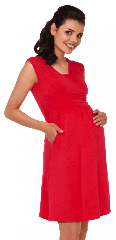 Zeta-Ville-Women-039-s-Maternity-Nursing-A-line-Dress-Pockets-Sleeveless-500c thumbnail 66
