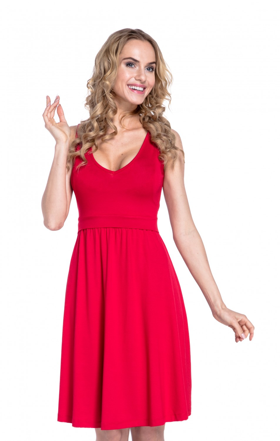 Happy Mama Womens Maternity Nursing Layered Skater Dress Sleeveless. 685p  Red S. About this product. Picture 1 of 8  Picture 2 of 8 ... 3657818ea4